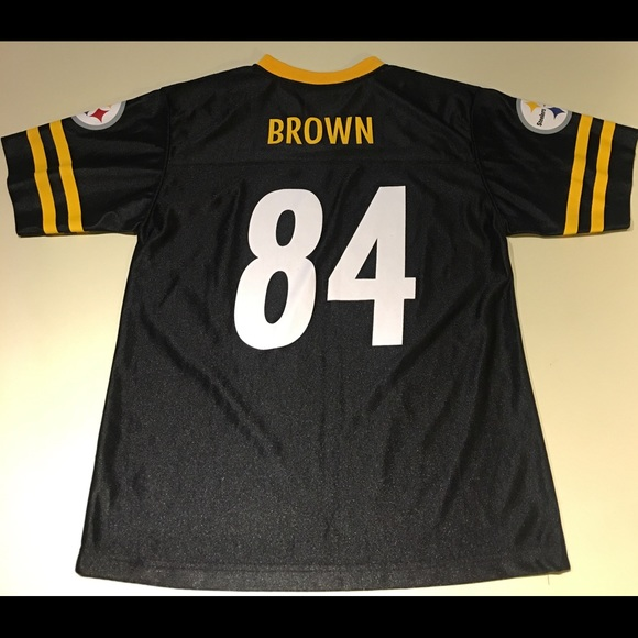 bba8be7307c Steelers Jersey - Antonio Brown #84 - Youth L. M_5ade641405f4303aa4418fcd